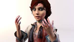 3DS Max - Elizabeth (BioShock Infinite) 3