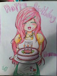 Happy Birthday Howxu by AlenaMiyuki