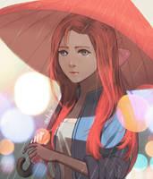Rain by medvale