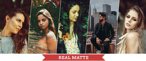 Real Matte Photoshop Actions