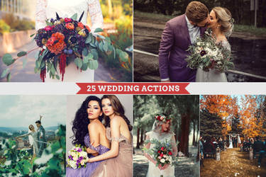 25 Wedding Actions