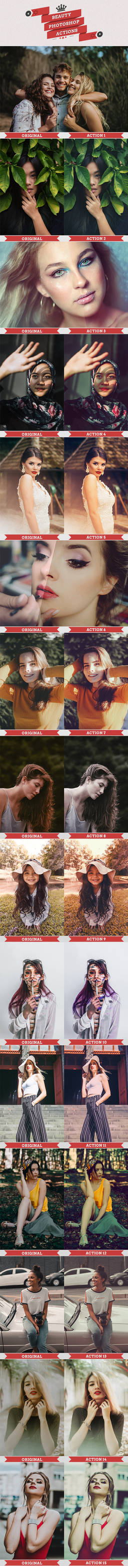 Beauty Photoshop Actions