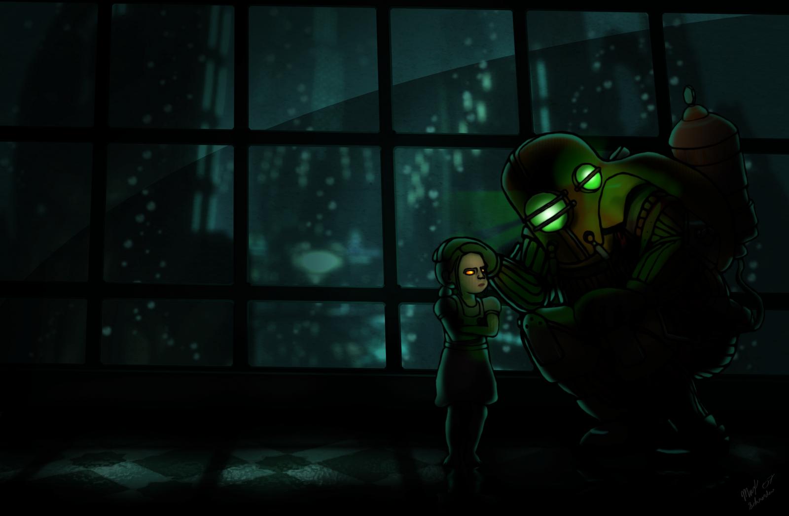 Bioshock Fanart by maxschroeder