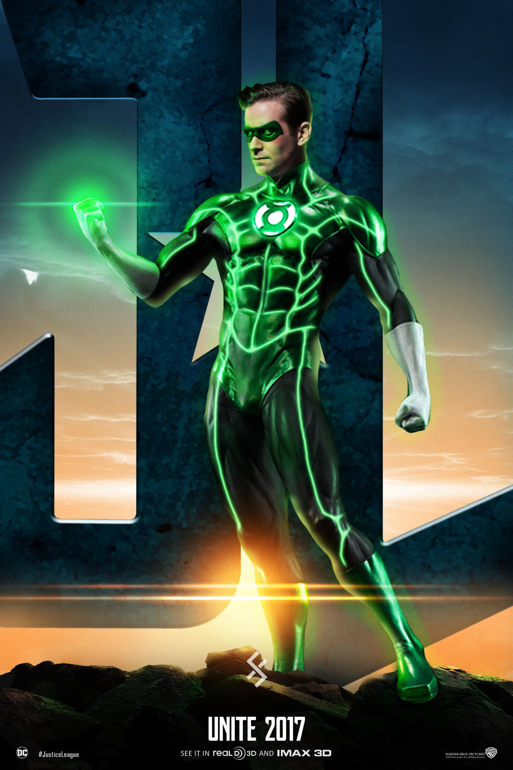 Justice League Unite - Green Lantern by farrrou on DeviantArt