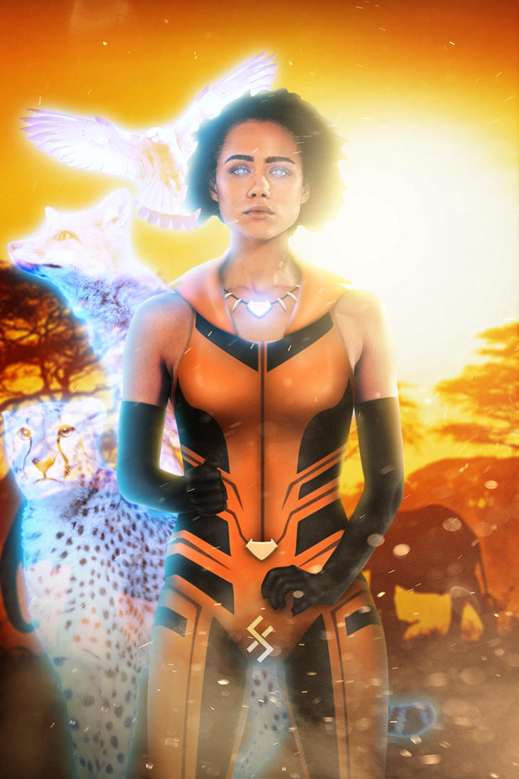 fan cast - vixen - nathalie emmanuelfarrrou on deviantart