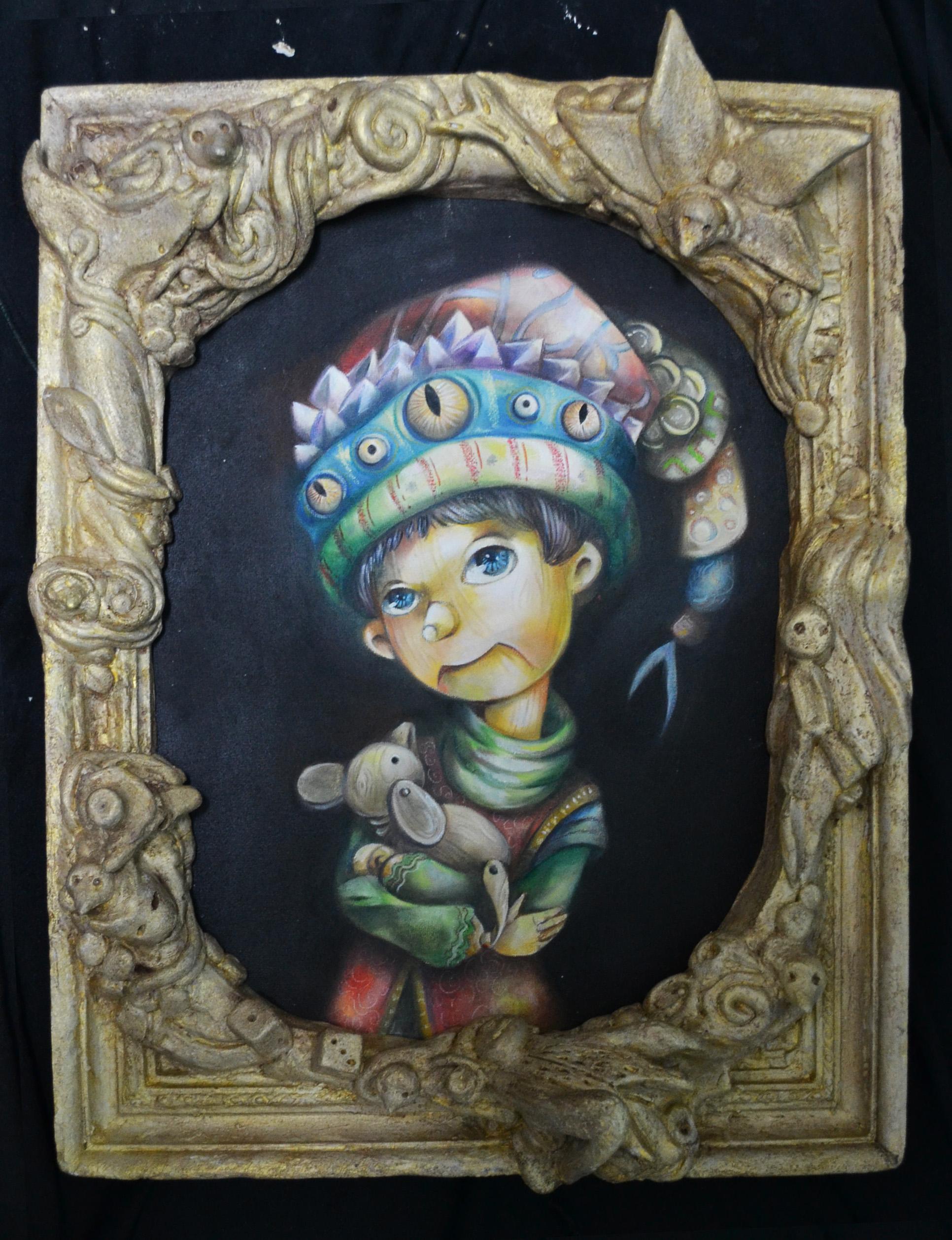 Pinocho (2) by vanessaballeza