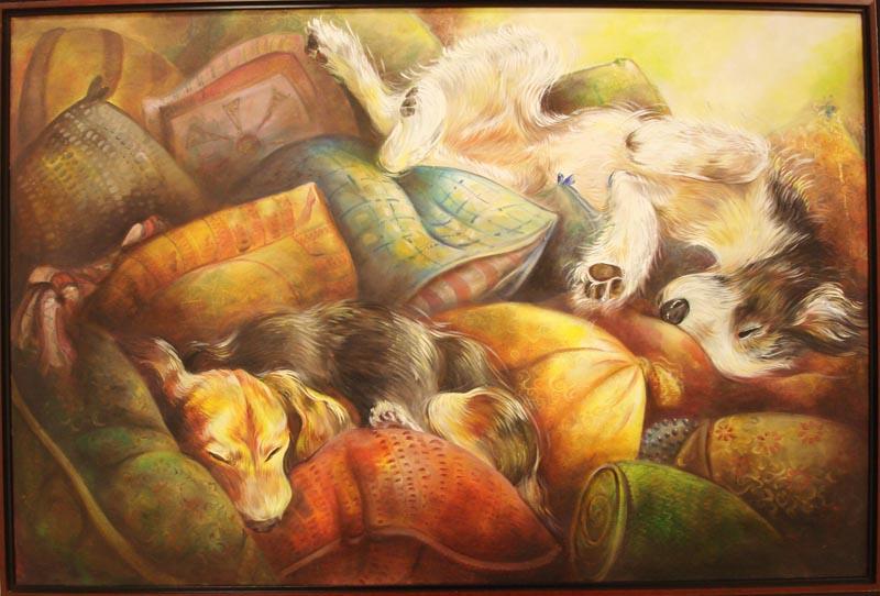 Durmiendo by vanessaballeza