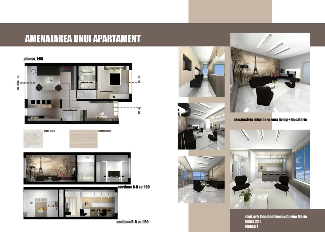 Apartment design 1 by Amedeah on DeviantArt