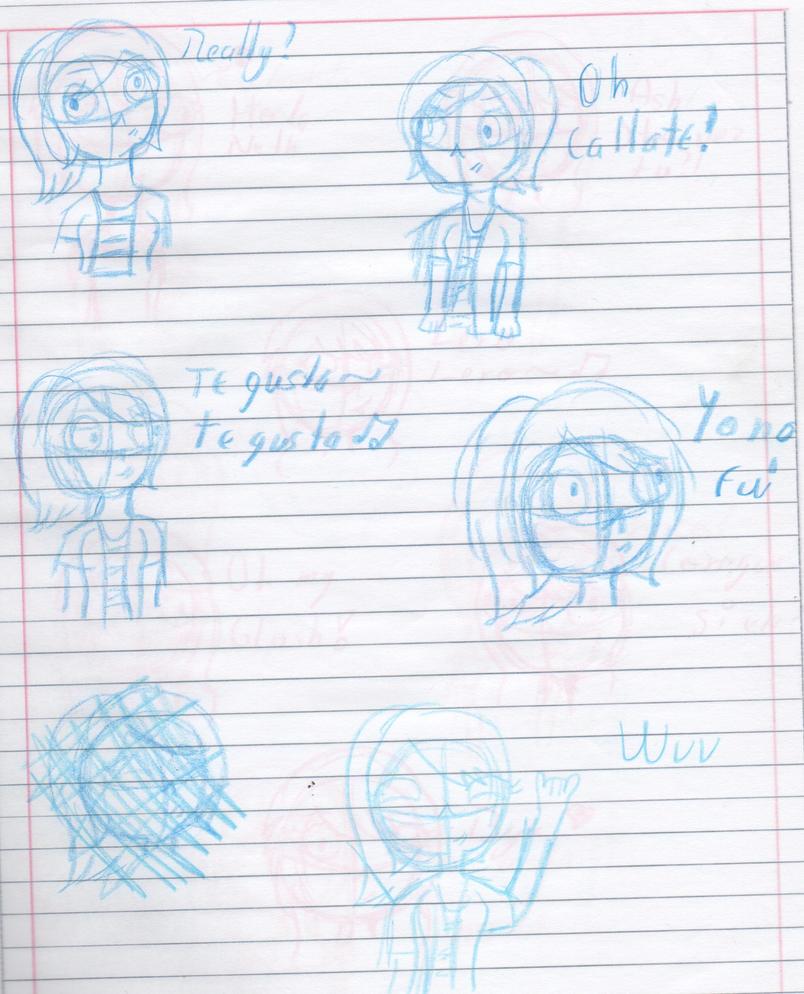 sketch Rie by Zagnihe2345