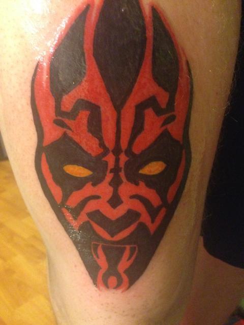 Darth Maul tattoo by RageFish21
