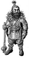 Hill Dwarf Druid