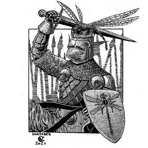Inktober 52 - Dragonfly