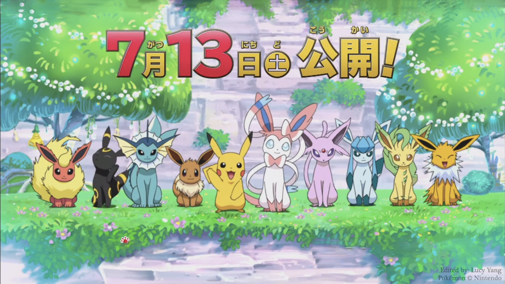 TheTreeDragonBone 11 12 Eeveelution Line Up Wallpaper By Lucyrules20