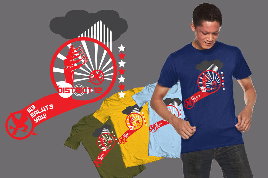 District 12 T-Shirt Design by MorgansDoor