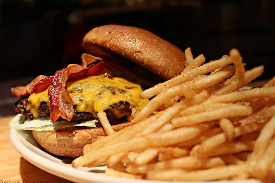 Black And Bleu Burger by OnePiece4Life