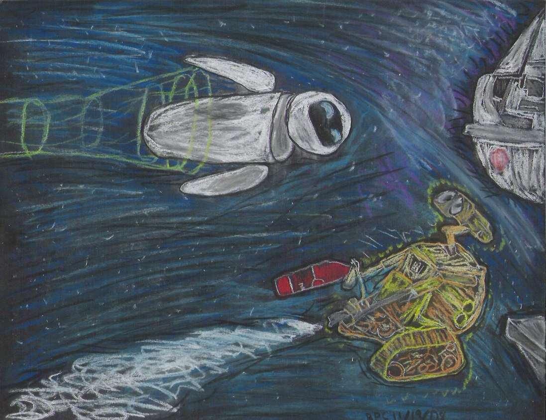 Wall-E by ghettoflower