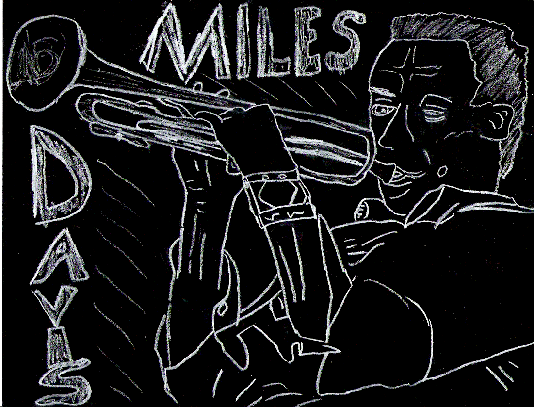 Miles Davis by ghettoflower