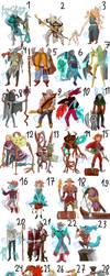 Character auction (open20\28) by KukuruzzA