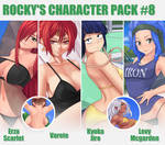 Gumroad character Pack #8