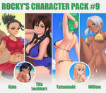Gumroad character Pack #9 by Rocky-Ace