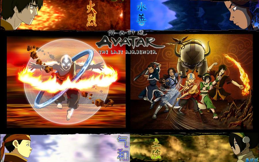 Avatar: The Last Airbender by xjesus-freakx