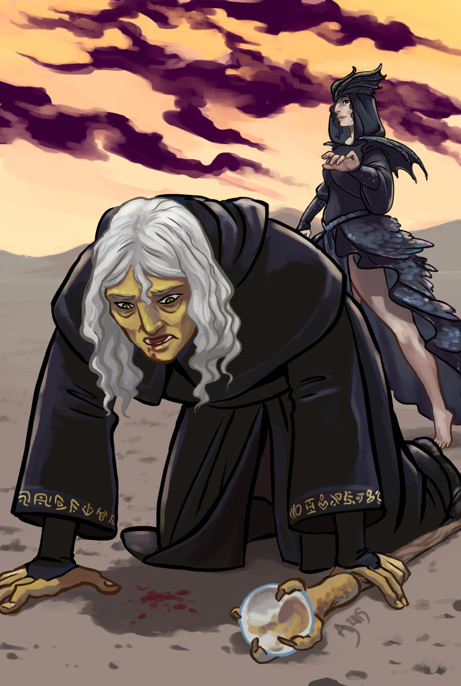 I am your death, Raistlin by Alimare