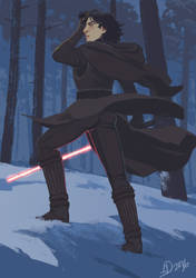 Kylo Ren, Not a Model by Alimare