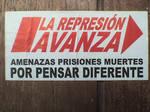 Repression progresses
