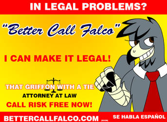 In legal problems? by DarkPrince2007