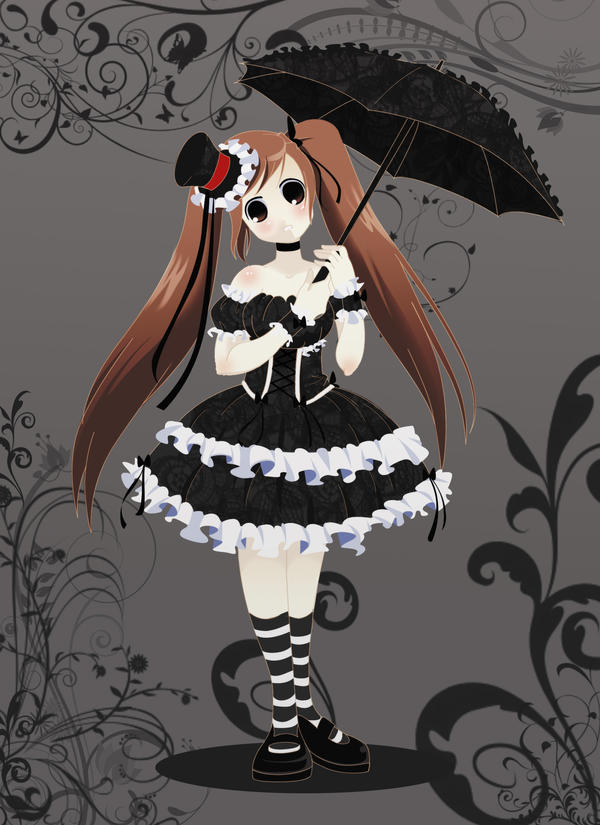 Cute Pics and other adorable things.  - Page 6 ___Gothic_Lolita____by_Codiciosa