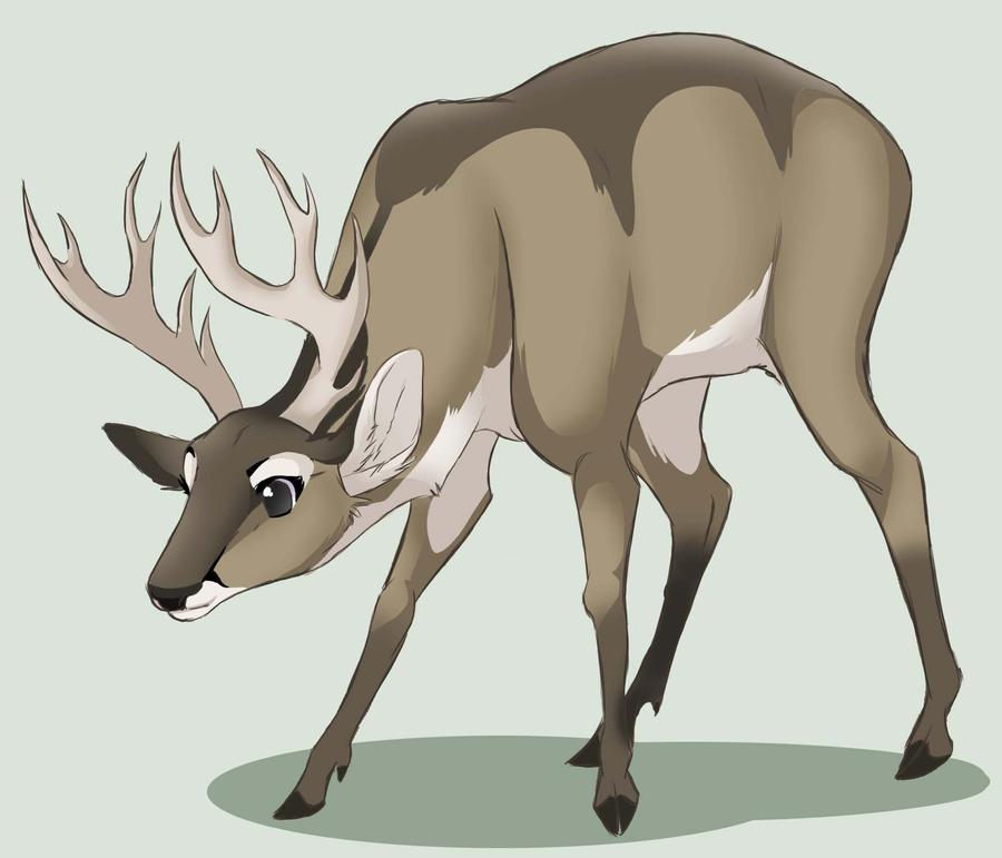 Deer Hoof Drawing Deer ai Again