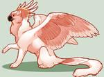 .: Pink Cockatoo Gryphon :.