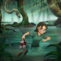 :Comm: The swamp :. by PirateHearts