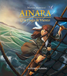 .: Ainara y la Daga de Viento -Novel cover :.