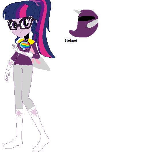 Twilight Sparkle Purple Ranger by sonicspeedster92