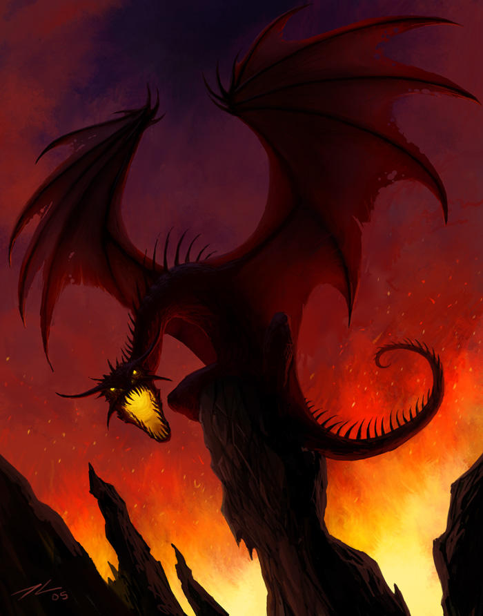 Black Dragon by Tyrus88