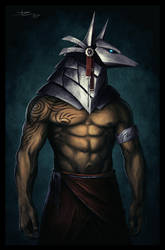 Silver Anubis by Tyrus88