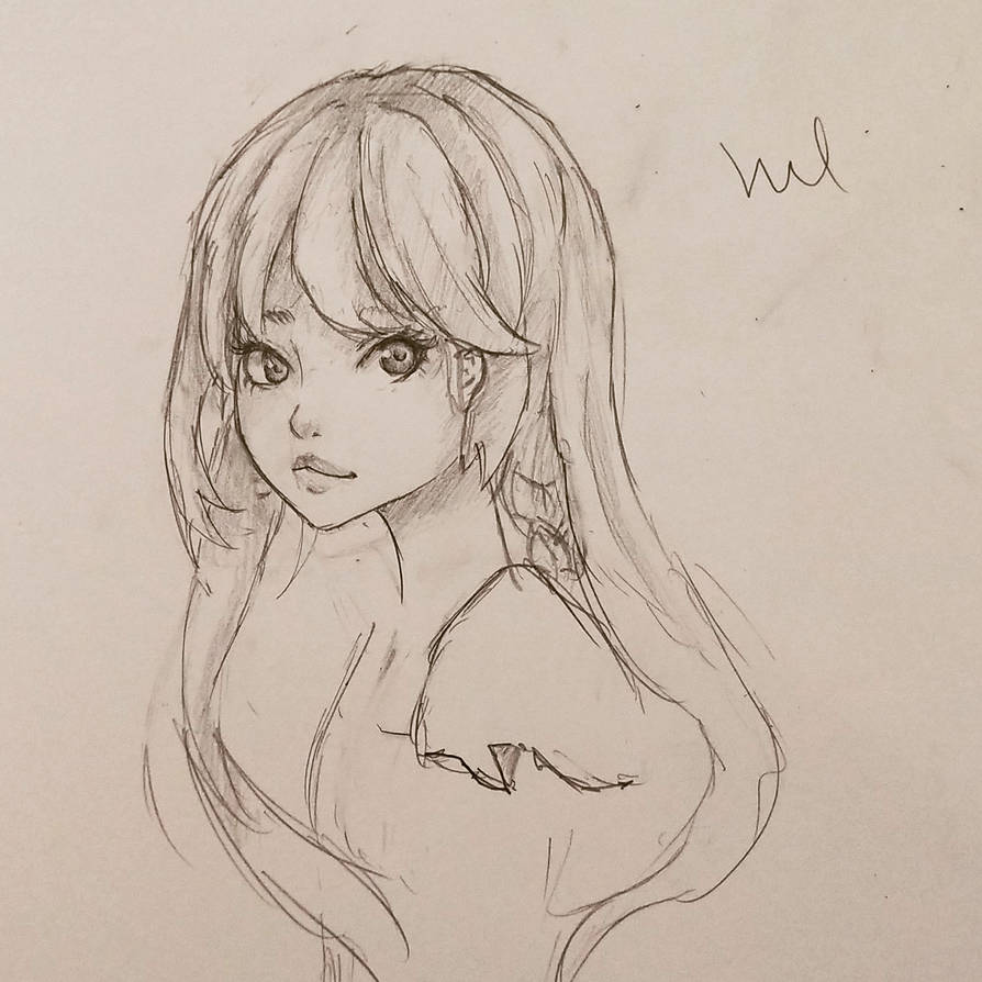 Trying To Draw Girls By Vulcaire On Deviantart