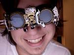 Steampunk Goggles FTW