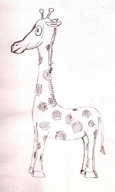 Giraffe by Hennell