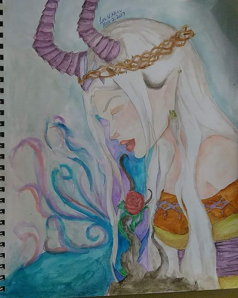 Dark Crystal Elf by spexylexylove