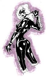 Black Cat Pose