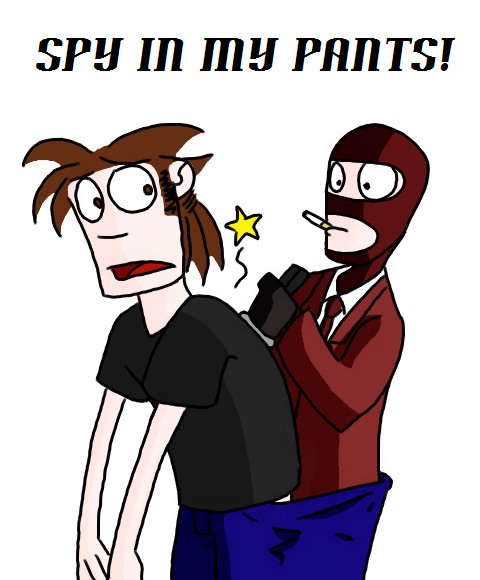Tf2 Spray Spy Tf2 Spray Spy in my Pants by