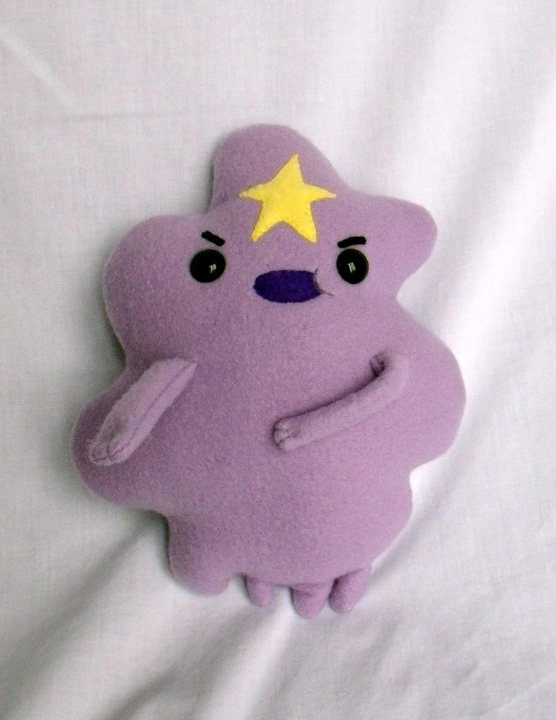 Lumpy Space Princess Plush by CynicalSniper