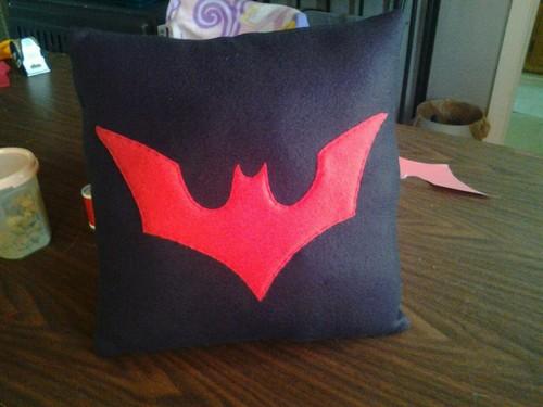 Batman Beyond Pillow by CynicalSniper