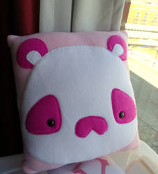 Large Panda Moosh Pillow by CynicalSniper