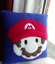 Mario Plush Pillow by CynicalSniper