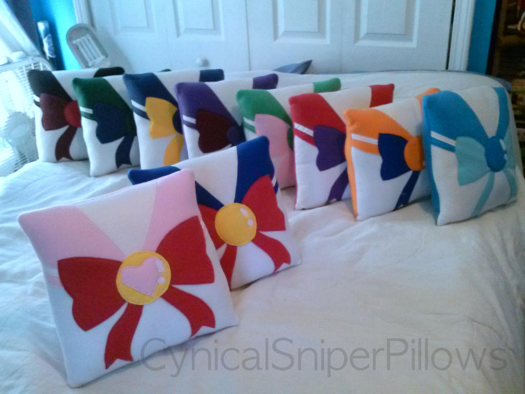 Sailor Moon Complete Pillow Set by CynicalSniper