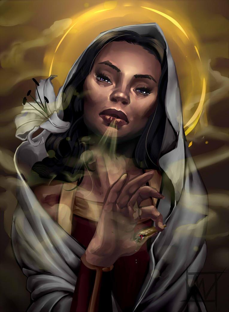 Saint Maria in  Ethiopia by SonderlingS