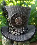Mini Top Hat - Steampunk Clock Gears